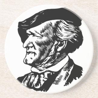 Richard Wagner Sandstein Untersetzer