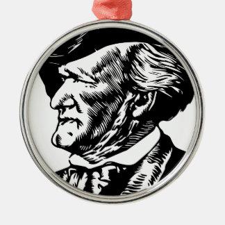 Richard Wagner Silbernes Ornament