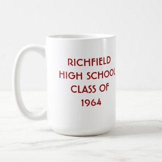 Richfield High-School-Klasse von 1964 Kaffeetasse