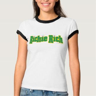 Richie reiches Logo - Farbe T-Shirt