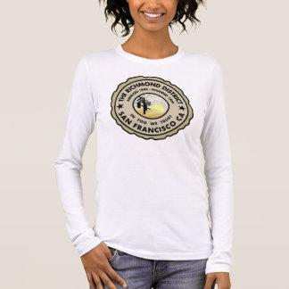 Richmond-Bezirks-Siegel Langarm T-Shirt