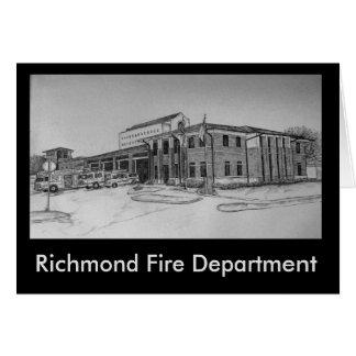 Richmond-Feuerwehr Karte