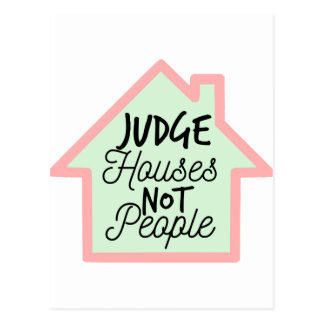 Richter bringt nicht Leute unter Postkarte