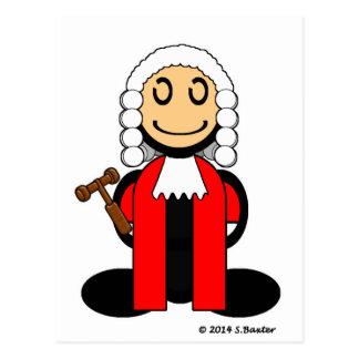 Richter (einfach) postkarte