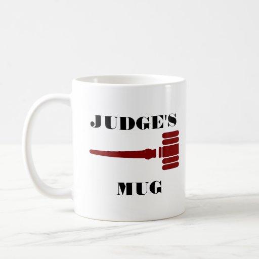 Richter-Tasse mit Hammer