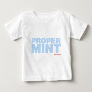 Richtige Minze Baby T-shirt