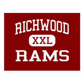 Richwood - RAMs - Highschool - Monroe Louisiana Postkarte