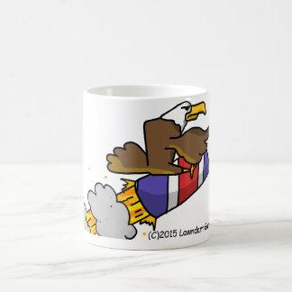 Rick die Adler-Rocket-ReitTasse Kaffeetasse