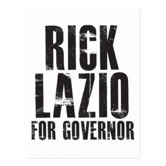 Rick Lazio für Gouverneur 2010 Postkarte