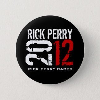 Rick Perry 2012 Runder Button 5,7 Cm