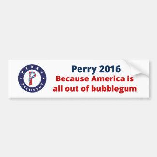 Rick Perry für Präsidenten Autoaufkleber