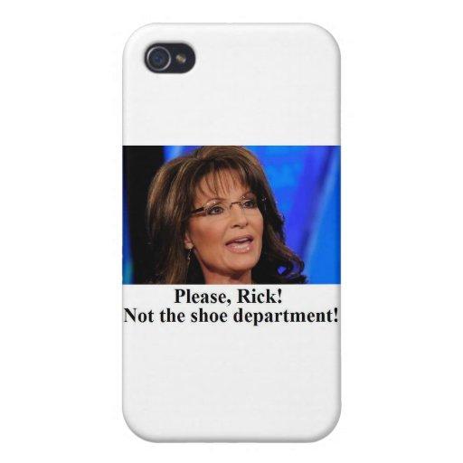 Rick Perry sorgt sich Sarah Palin (Inspektion img) iPhone 4 Case