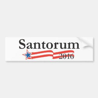 Rick Santorum für Präsidenten 2016 Autoaufkleber