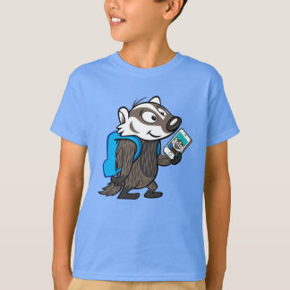 Ricky Raccoon | Boomer Badger Selfie T-Shirt