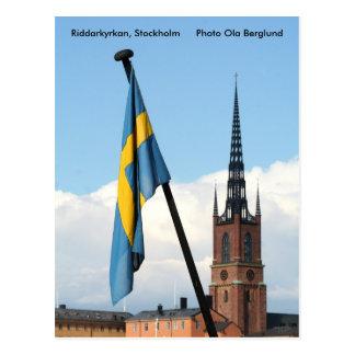 Riddarkyrkan, Stockholm, Foto Ol… Postkarten