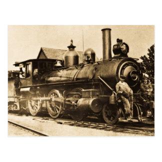 Ridin, das Vintage Eisenbahn ausbilden Postkarte