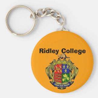 Ridley Uni-Wappen Standard Runder Schlüsselanhänger