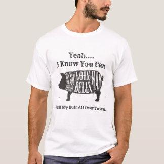 Riechen Sie meinen Hintern ganz über Stadt T-Shirt