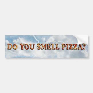 Riechen Sie PIZZA - Autoaufkleber