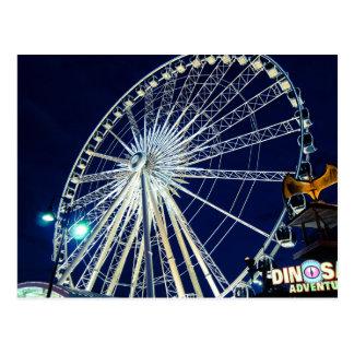 Riesenrad bei Niagara Falls Postkarte