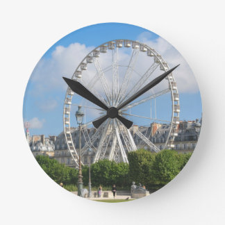 Riesenrad Runde Wanduhr