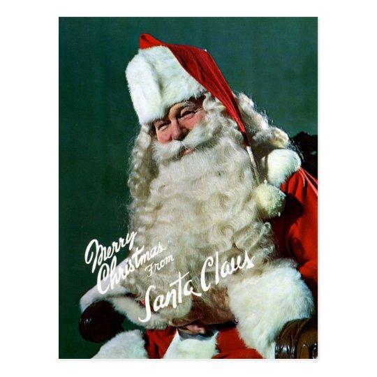riesig posten karte frohe weihnachten von sankt zazzle. Black Bedroom Furniture Sets. Home Design Ideas