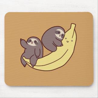 Riesige Bananen-Trägheiten Mauspads