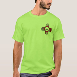 Riesige Bob-Zia-Front/Profil-hinterer T - Shirt