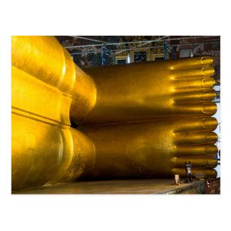 Riesige Buddha-Füße Postkarte