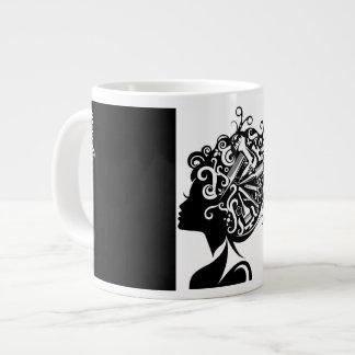 Riesige Kaffee-Tasse des Hairstylist-#1 Jumbo-Tasse