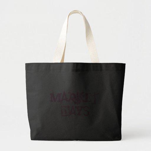Riesige Markt-Tagestasche Leinentaschen