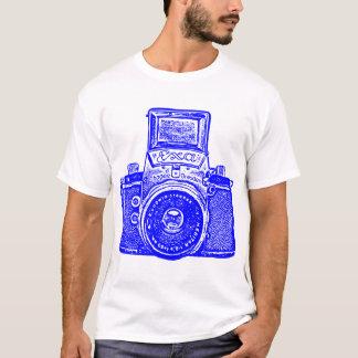 Riesige Ostdeutsche Kamera - Blau T-Shirt