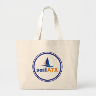 Riesige Segeln-Tasche - sailATX Logo Jumbo Stoffbeutel