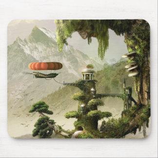 Riesige Weide-Fantasie-Mausunterlage Mousepad
