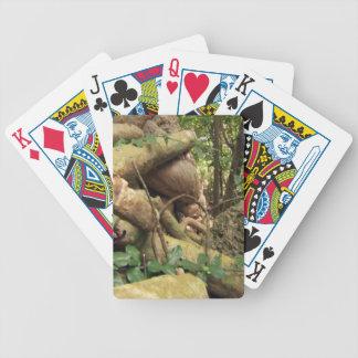 Riesige Wurzelbäume von Sansibar-Insel Bicycle Spielkarten
