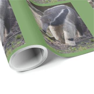 Riesiger Anteater-Packpapier Geschenkpapier
