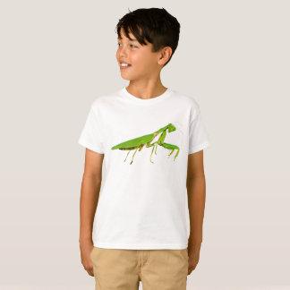 Riesiger grüner betender Mantis scherzt T - Shirt