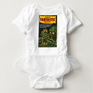 Riesiger grüner Ghoul Baby Strampler