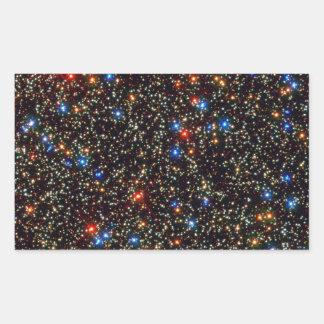 Riesiger Sternhaufen Omegas centauri Rechteckiger Aufkleber