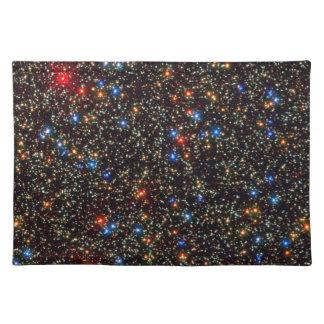 Riesiger Sternhaufen Omegas centauri Stofftischset