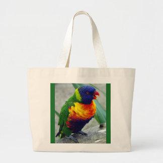 Riesiger Tasche Parakeet-Vogel