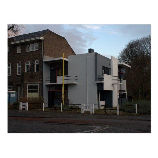 Rietveld Schröder Haus Utrecht Postkarte Zazzlede