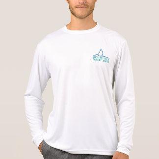 Riff-Läufer-Segeln - Rückschritt-Logo T-Shirt