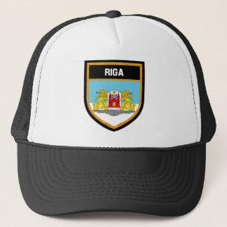 Riga-Flagge L Truckerkappe