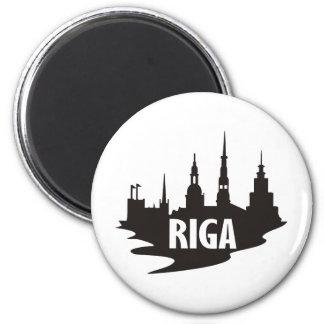 Riga Runder Magnet 5,7 Cm