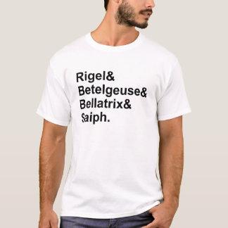 Rigel Betelgeuse Bellatrix Saiph | Sterne von T-Shirt