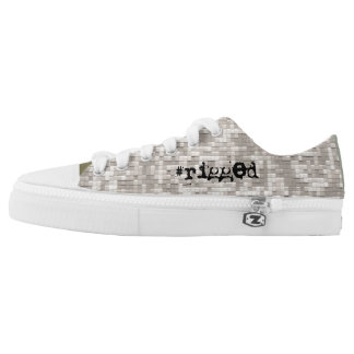 #rigged, nyc™ Rochester - Digital-Armee-Camouflage Niedrig-geschnittene Sneaker