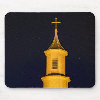 Rilan Kirche, Chiloe, Chile Mousepad