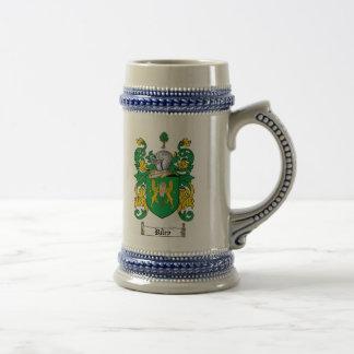 Riley-Wappen Stein Bierglas