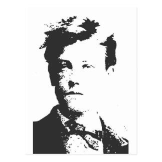 Rimbaud Postkarte